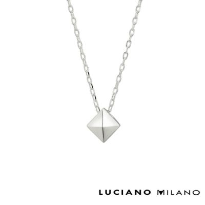 LUCIANO MILANO 浪漫典雅簡約純銀項鍊