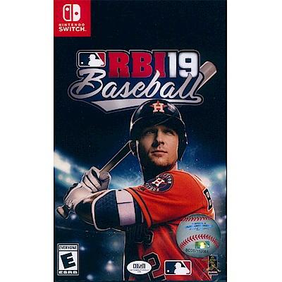 RBI 美國職棒大聯盟 19 RBI Baseball 19-NS Switch 英文美版