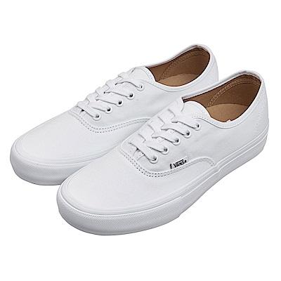 (男)VANS Authentic Pro 經典素色休閒鞋*白色