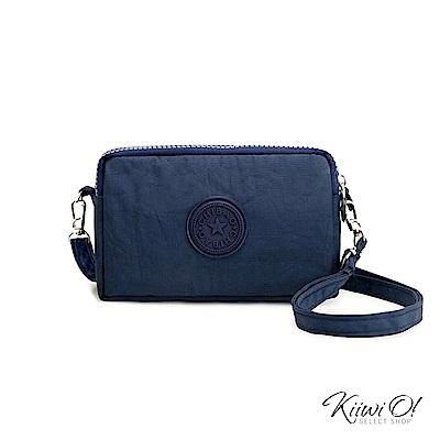 Kiiwi O! 輕便隨行系列 三層收納單肩隨身手拿包 TORI 藍