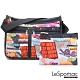 LeSportsac - Standard雙口袋A4大書包-附化妝包 (街頭塗鴉) product thumbnail 1