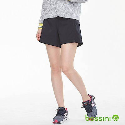 bossini女裝-速乾短褲01黑