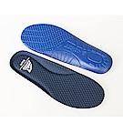 【ZEPRO】男款緩震透氣機能鞋墊-藍
