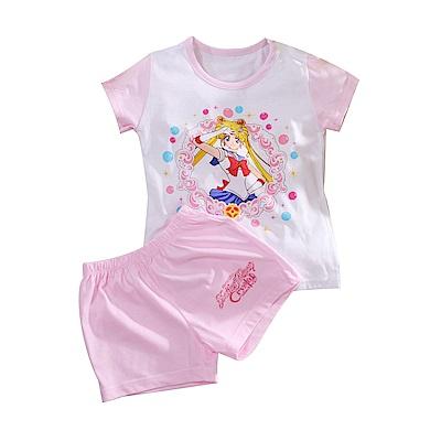 美少女戰士短袖純棉套裝 k51097 魔法Baby