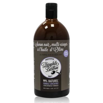 法國 THEOPHILE BERTHON 黑肥皂 1000ml (薰衣草/橄欖油)