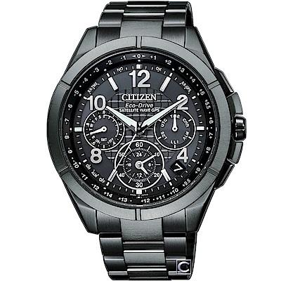 CITIZEN GPS衛星鈦金屬計時腕錶(CC9075-52F)44mm