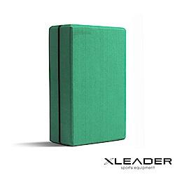 Leader X 環保EVA高密度防滑 加硬加重瑜珈磚 綠色