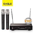 EAGLE 專業級VHF雙頻無線麥克風組 EWM-P21V