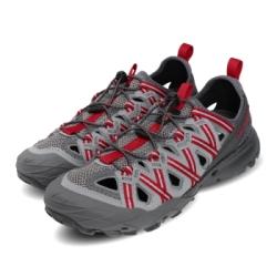 Merrell 兩用鞋 Choprock Shandal 男鞋 水陸兩棲 快速扣 好穿脫 耐磨 黃金大底 灰 紅 ML033539