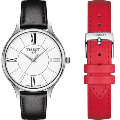 Tissot  天梭臻時系列時尚腕錶(T1032101601800)