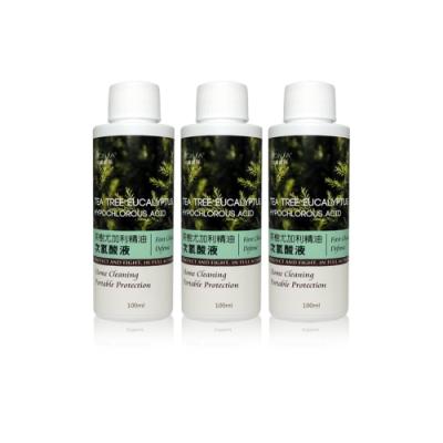 MONSA 茶樹尤加利加精油次氯酸液 (3瓶一組) - 健康防護升級