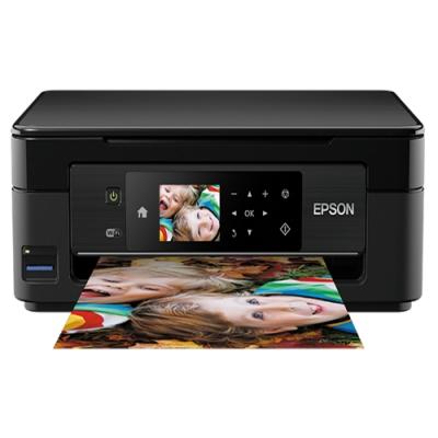 (加購墨水超值組) EPSON XP-442 六合一Wi-Fi雲端相片複合機+墨水1黑3彩