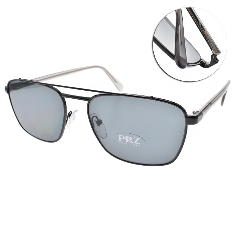 PRADA偏光太陽眼鏡 個性百搭款/黑#SPR61U 1AB-5Z1