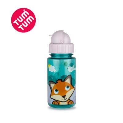 TUM TUM 狐狸費西蒂-頭蓋型防漏吸管水杯400ml