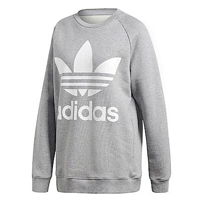 adidas 上衣 Oversize Sweatshirt 女款