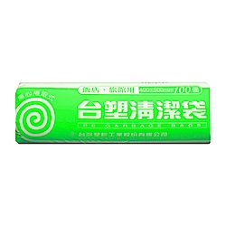台塑 實心 清潔袋 垃圾袋 (特小) (透明) (10L) (40*50cm)