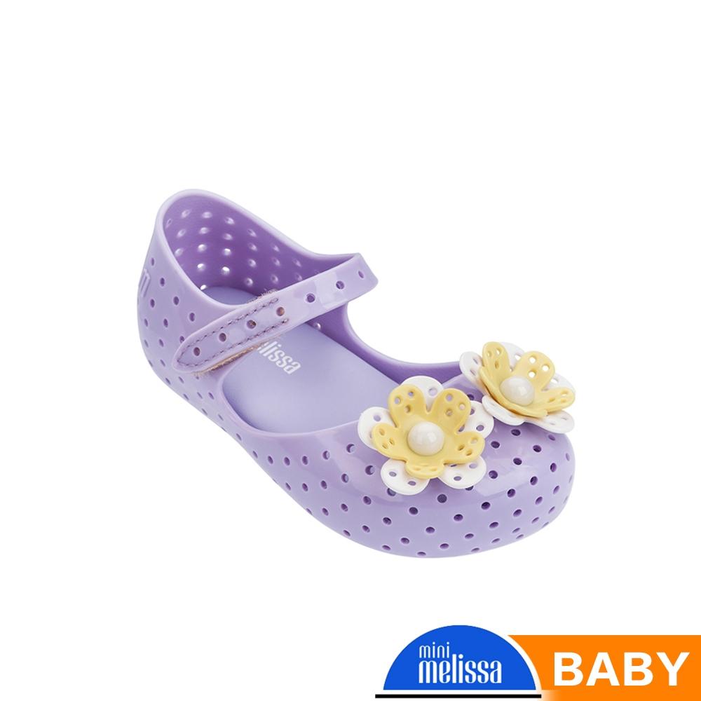 Melissa 立體花娃娃鞋 寶寶款 紫
