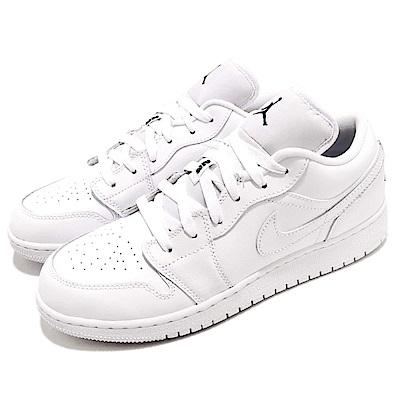 Nike 籃球鞋 Jordan 1 運動 低筒 女鞋