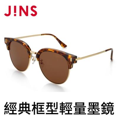 JINS 經典框型輕量墨鏡(特AURF17S865)