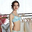 曼黛瑪璉 Marie One 刺繡蕾絲內衣  B-C罩杯(優雅藍)
