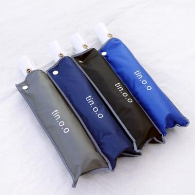 好傘王 自動傘系-輕白超輕量電光黑膠防曬降溫反向折傘(多色)
