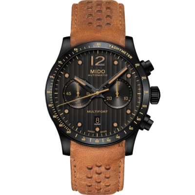 MIDO 美度 Multifort Adventure 先鋒系列探險計時手錶-44mm M0256273606110