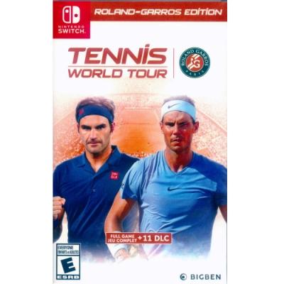 網球世界巡迴賽 法國網球公開賽版 Tennis World Tour-NS Switch 中英文美版
