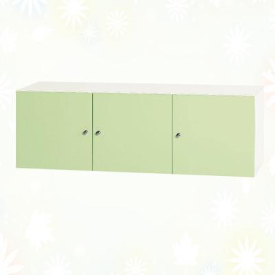 文創集 蘇菲亞 環保4尺南亞塑鋼三開門置物櫃/收納櫃-121.2x41.5x40.4cm免組