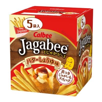 Calbee日本加卡比薯條-醬油奶油味(16gX5袋)