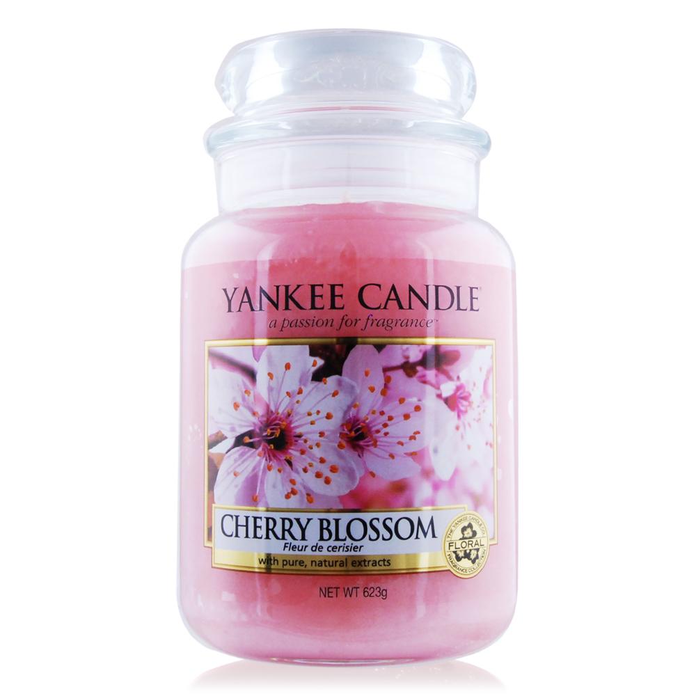 YANKEE CANDLE 香氛蠟燭-粉紅櫻花 Cherry Blossom 623g