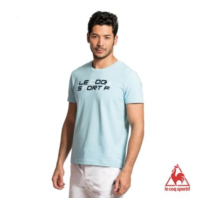 法國公雞牌短袖T恤 LYH2113833-男-灰藍