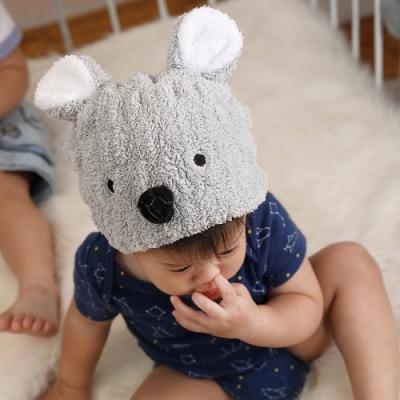 MIT超細纖維動物造型速乾兒童浴帽 毛帽(無尾熊) MORINO摩力諾