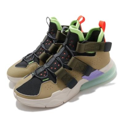 Nike 休閒鞋 Air Edge 270 男鞋 海外限定 大氣墊 魔鬼氈 緩震 穿搭 灰 黃褐 AQ8764200