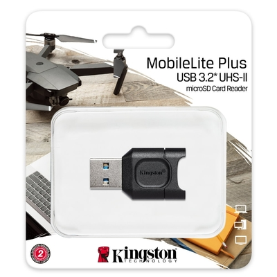 金士頓 Kingston MLPM MobileLite Plus Micro SD 讀卡機 USB3.2 UHS-II TF Micro SDHC