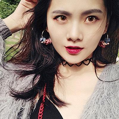 Hera 赫拉 少女心多彩花瓣圈圈耳環-2款