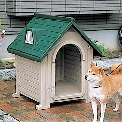 日本Richell 》中大型犬用室外狗屋DX-580(適用20KG以下狗狗)