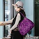 KINAZ 氣球~完美小姐肩背包-優雅紫紅