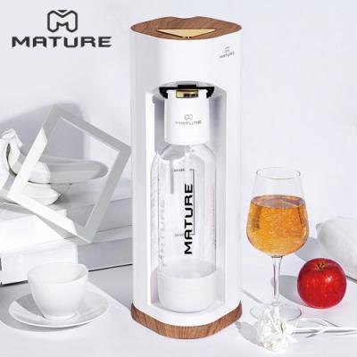 MATURE美萃 Luxury440系列氣泡水機-木華白