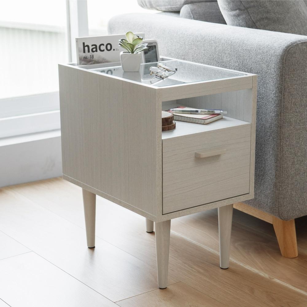完美主義 邊桌/茶几桌/咖啡桌/雜誌收納櫃/床頭櫃(2色) product image 1