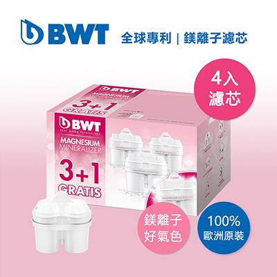 BWT德國倍世 Mg2+鎂離子8週長效濾芯環保包-3+1入