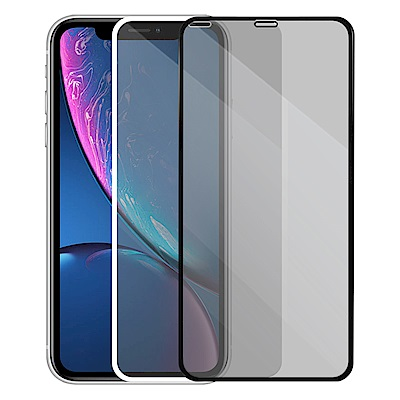 Metal-Slim Apple iPhone XR 3D全膠滿版鋼化玻璃貼