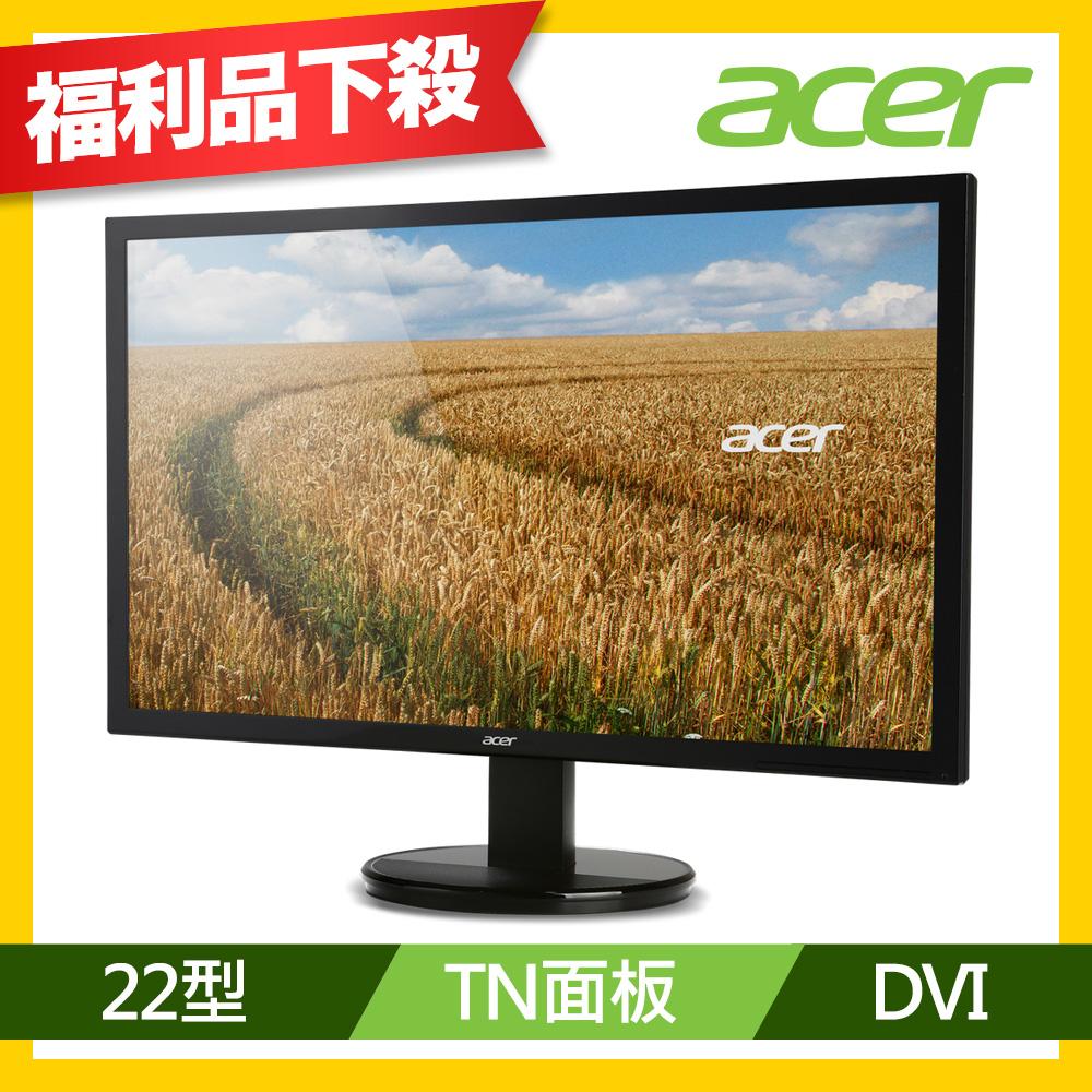 acer K222HQL 22型 高對比電腦螢幕(福利品)