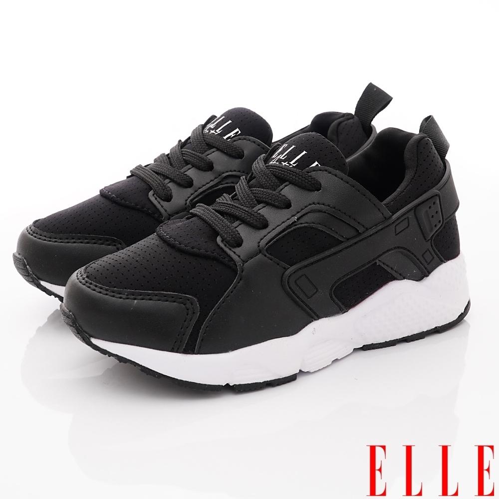 ELLE童鞋 時尚老爹鞋款 ON93011黑(中大童段)