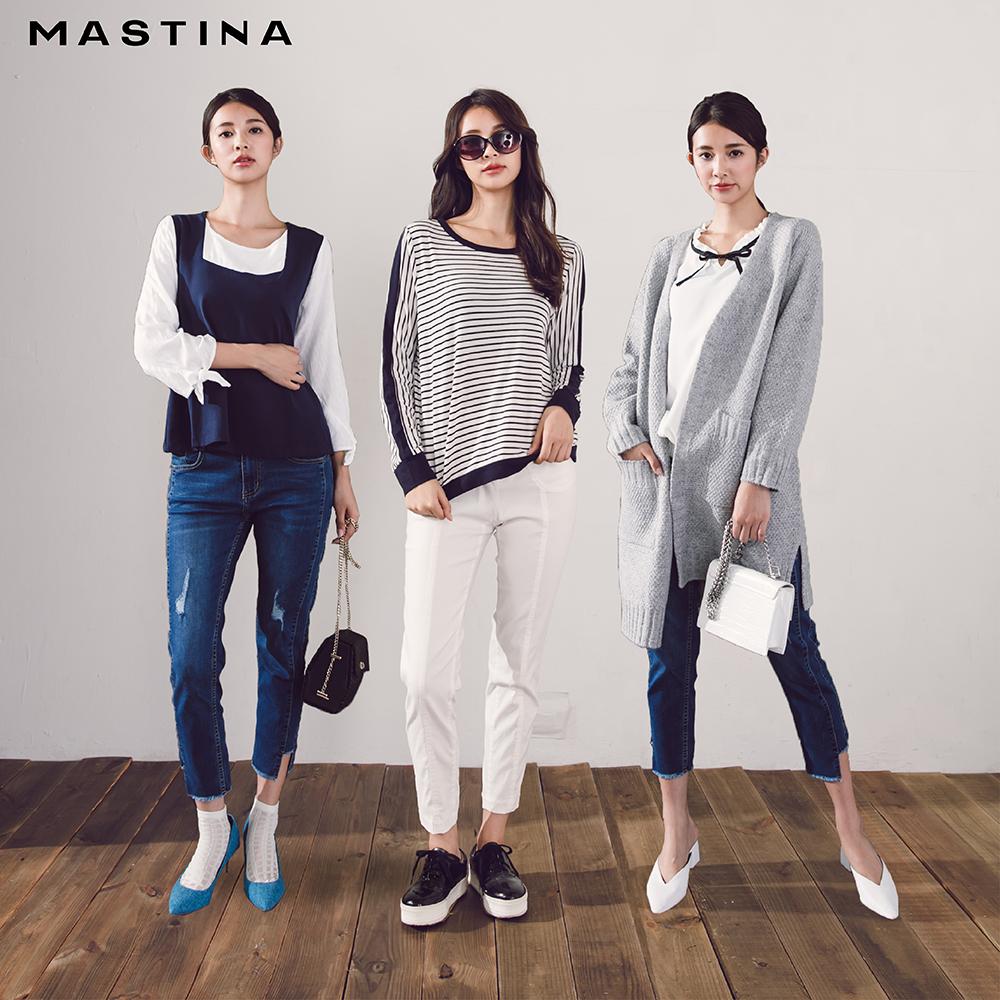 【MASTINA】冬季暖穿搭上衣/外套/毛衣(三款任選990)