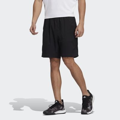ADIDAS  TS SHORT 男網球短褲-黑-H35940