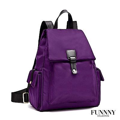 FUNNNY 輕量尼龍機能後背包系列 Akira 紫 (快)