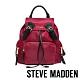 STEVE MADDEN-BSOLLY 時尚有型 超大容量軍旅後背包-紅色 product thumbnail 1