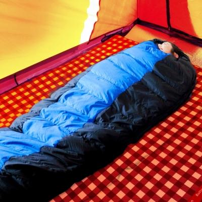 凱蕾絲帝-極地抗寒高山玩雪FP600+木乃伊90%純羽絨睡袋800g(一入)