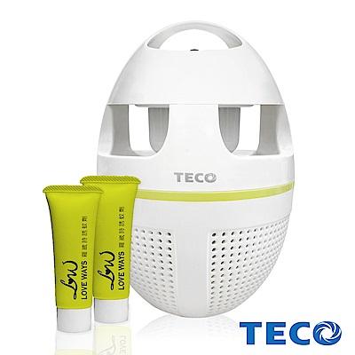 TECO東元 夏季滅蚊超值A組(吸入式捕蚊燈XYFYK5623+專用誘蚊劑10mlX2)