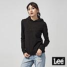 Lee 立體鋼印LOGO長袖帽TEE/RG-標準版-黑